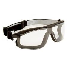 Очки защитные 3М 13330-00000M Максим Гибрид закрыты, поликарбонат, прозрачные DX