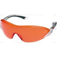 Очки защитные 3М 2846 PC поликарбонат, красно-оранжевые AS / AF