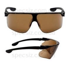 Очки защитные 3М 13297-00000M Максим баллистики PC поликарбонат, бронзовые DX