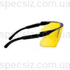 Очки защитные 3М 13299-00000M Максим баллистики PC поликарбонат, желтые DX