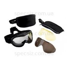 Очки 3М 71360-99999M Фаренгейт Тактический комплект со сменными линзами и защитной сумкой