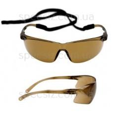 Очки защитные 3М 71501-00002M Тора PC поликарбонат, бронзовые AS / AF + веревка
