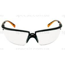 Очки защитные 3М 71505-00001M солус PC поликарбонат, прозрачные AS (черно-оранжевые)