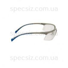 Очки защитные 3М 71505-00007M солус PC поликарбонат, прозрачные AS (серебристо-голубые)