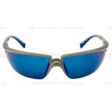 Очки защитные 3М 71505-00009M солус PC поликарбонат, синие зеркальные