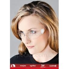 Очки защитные противоосколочные MCR-CHECKLITE