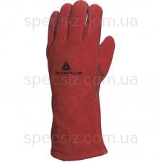 CA515R Перчатки из жаропрочного кожевенного спилка