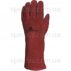 CA615K Перчатки из жаропрочного кожевенного спилка