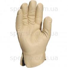 FB149 Перчатки воловья текстурированная кожа