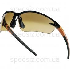 FUJI2 GRADIENT Бинокулярные очки из оранжевого поликарбоната с градиентным затемнением
