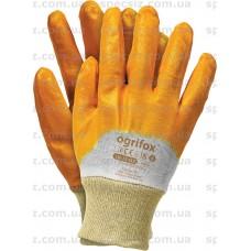 Перчатки нитриловые желтые OX-NITER