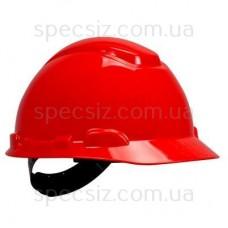 Каска 3М H-701C-RD красный, штифтовая застежка, без вентиляции, диелектрична