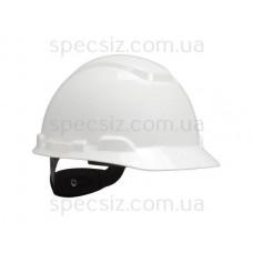 Каска 3М H-701N-VI белый, храповик, без вентиляции, диелектрическая