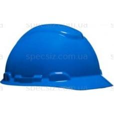 Каска 3М H-701N-BB синий, храповик, без вентиляции, диелектрична