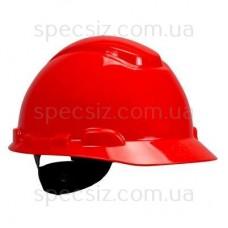 Каска 3М H-701N-RD красный, храповик, без вентиляции, диелектрична