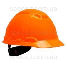 Каска 3М H-701N-OR оранжевый, храповик, без вентиляции, диелектрична