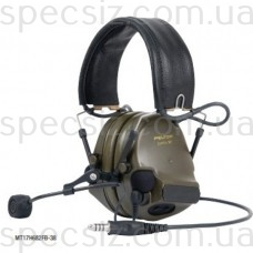 Наушники-гарнитура 3М MT17H682FB-68 COMTAC XP, гибкий микрофон