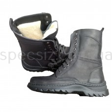 Ботинки с высокими берцами теплые