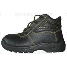 Ботинки рабочие литьевого метода крепления с металлическим носком