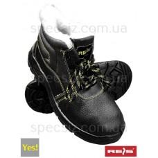 Ботинки защитные утепленные с металлическим подноском BRYES-TO-SB
