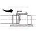 Запорный клапан наружная канализация 50