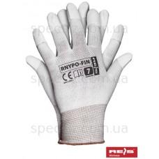 Перчатки нейлоновые с полиуретановым покрытием RNYPO-FIN